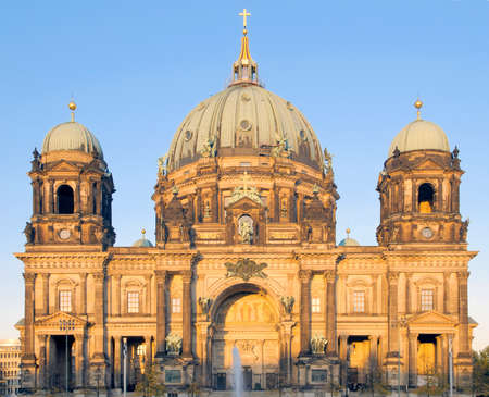 Berlin Cathedral (Berliner Dom) on a sunny evening; Berlin, Germany Stock Photo - 8763158