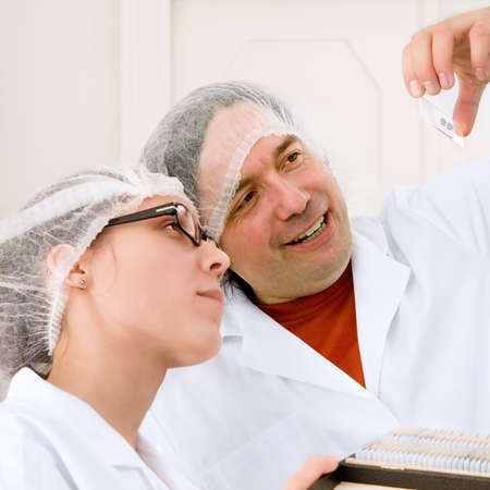 biopsia: Curso de capacitaci�n sobre detecci�n del c�ncer de la citolog�a Foto de archivo