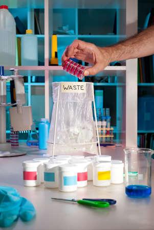 hazardous waste: Rapid accumulation of scientific waste in a modern laboratory