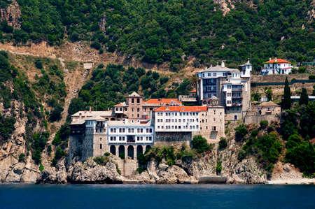 Gregoriou monastery, Mount Athos, Halkidiki, Greece Stock Photo - 15417363