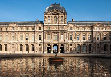 sully: Paris, Louvre, Clock or Sully Pavilion (Pavilion de lHorloge du Louvre) in  Paris, France