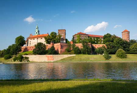 wawel: Royal castle at Wawel hill, Krakow, Poland