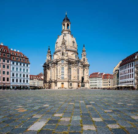 saxony: Frauenkirche in Dresden, Saxony, Germany