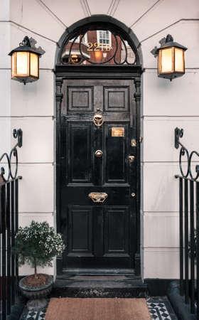 イギリスのロンドンで 221 b ベーカーストリート 写真素材
