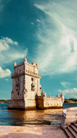 torre: Belem Tower in Lisbon, Portugal