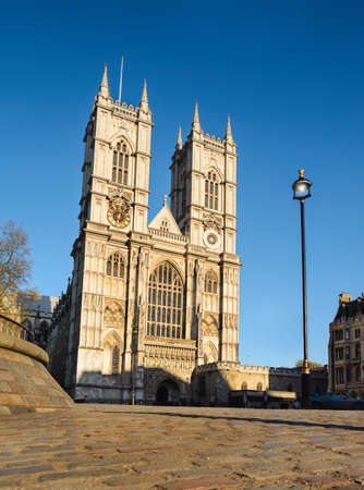 abbey: Westminster Abbey in London, UK Stock Photo