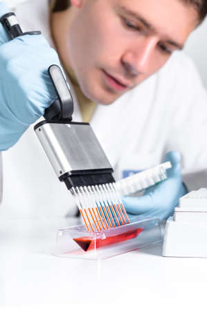 pcr: Setting up PCR reaction with multichannel pipette