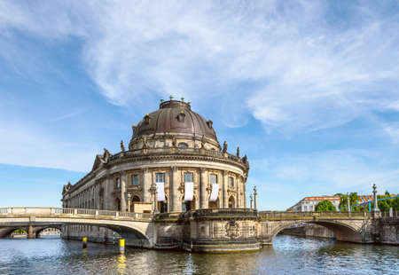 bode: Bode Museum in Berlin, Germany, on a bright day Editorial