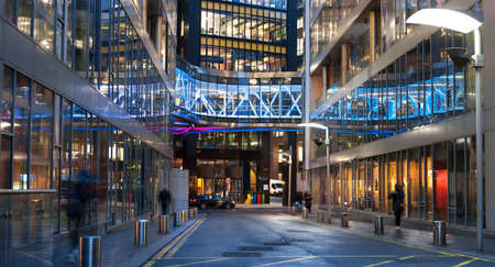 DUBLIN, IRELAND - JANUARY 30, 2017: The European headquarters of Google on Barrow Street, historic docklands of Dublin