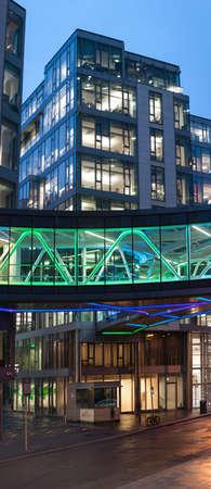 #73238047   DUBLIN, IRLAND   30. JANUAR 2017: Der Europäische Hauptsitz Von  Google Auf Der Barrow Street, Gelegen In Den Historischen Docklands Von  Dublin