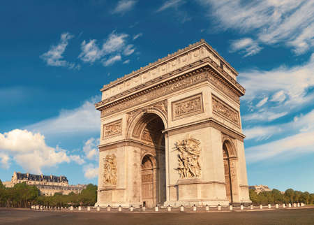 Arc de Triumph in Paris, France.