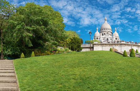 sacre coeur: Basilique du Sacré-C?ur à Montmartre, Paris, France