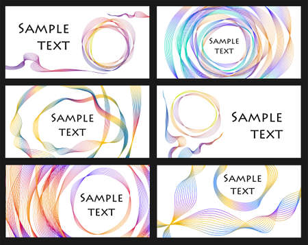business card set for your design Vector