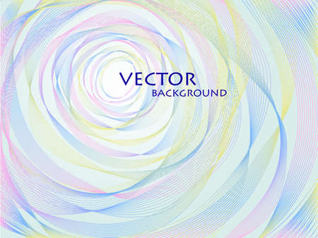 abstract pastel concentric background Vector