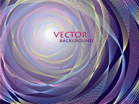 abstract concentric background Stock Vector - 12198872