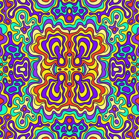 urban colors: sin fisuras dibujo a mano patrón de Vectores