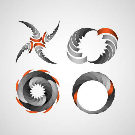 Business Design elements (icon) set for print and web.