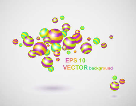 abstract 3d background  Illustration