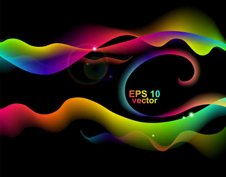 Abstract vector wave Illustration