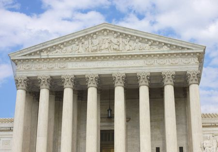 supreme court: The court house in Washington DC