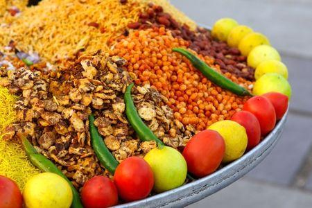 Indian food Stockfoto
