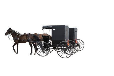 Amish vervoer  Stockfoto - 8110004