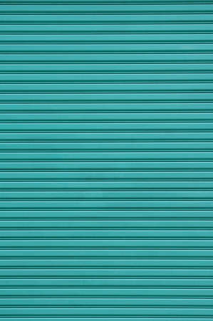 rolling garage door: Roller Shutter in blue