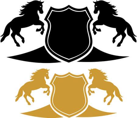 squad: stock logo horse squad