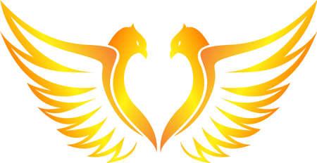 heart burn: phoenix flying flaming of love