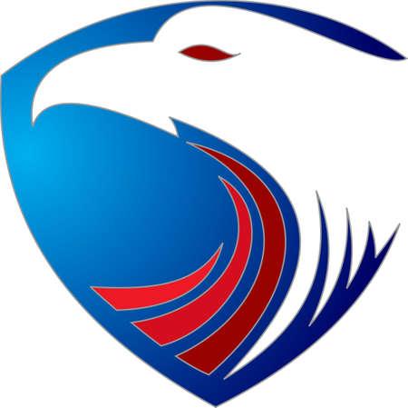 eagle shield: logo eagle shield