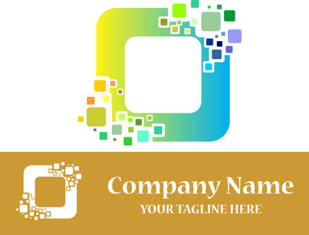 cube digital virtual logo
