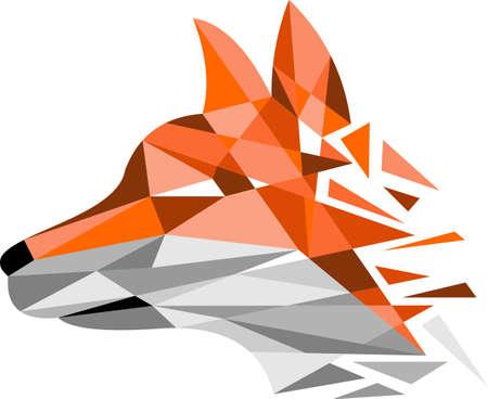 fox digital logo Illustration