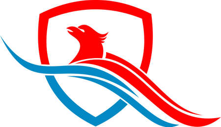 eagle: logo eagle bird protection