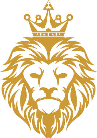 logo lion king Stock Illustratie