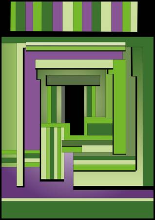 Illustration of abstract Entrance High resolution (6000 x 4240px) JPG preview.