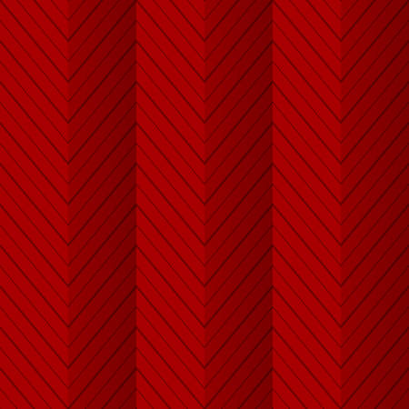 folded paper: Red seamless pattern background with zigzag lines as folded paper