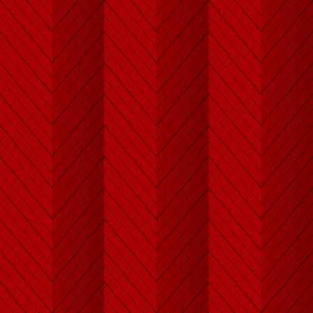Rode naadloze patroon achtergrond met zigzag lijnen als gevouwen papier Stock Illustratie
