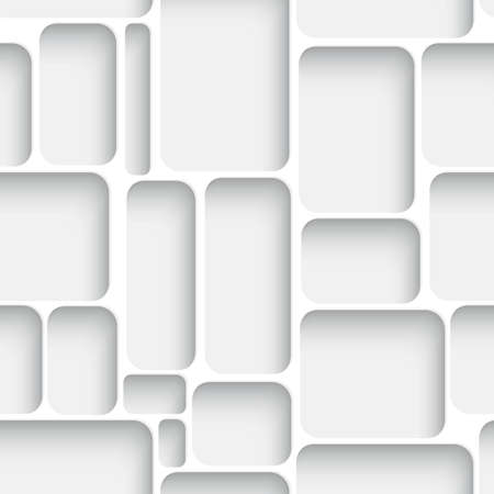 Abstract diagonal seamless background white net with realistic shadow.