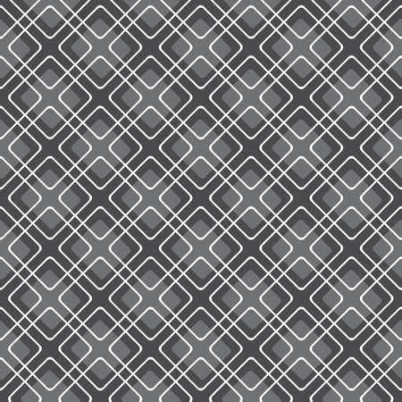 White and gray abstract diagonal seamless background. Simple geometrical ornament.     Ilustracja