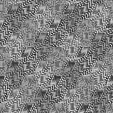 tillable: Seamless stylish geometric background. Modern abstract pattern. Flat monochrome design.Repeating ornament intersecting light and dark gray texture.