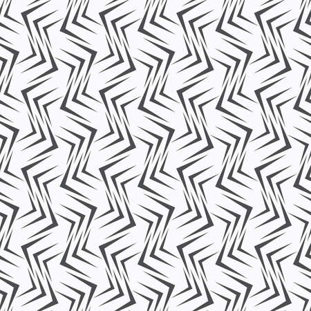 tillable: Seamless stylish geometric background. Modern abstract pattern. Flat monochrome design.Repeating ornament many gray corners. Illustration