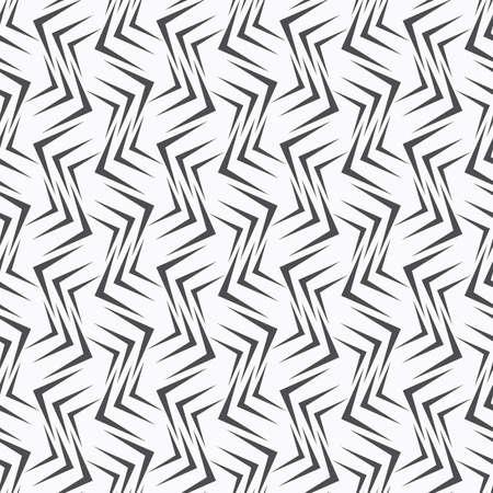 Seamless stylish geometric background. Modern abstract pattern. Flat monochrome design.Repeating ornament many gray corners. Illustration
