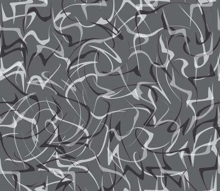 tillable: Seamless stylish geometric background. Modern abstract pattern. Flat monochrome design.Repeating ornament random paint splashes. Illustration