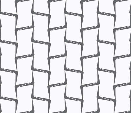 tillable: Seamless stylish geometric background. Modern abstract pattern. Flat monochrome design.Repeating ornament vertical bamboo lines. Illustration