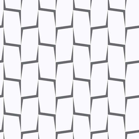 Seamless stylish geometric background. Modern abstract pattern. Flat monochrome design.Repeating ornament vertical gray corners.