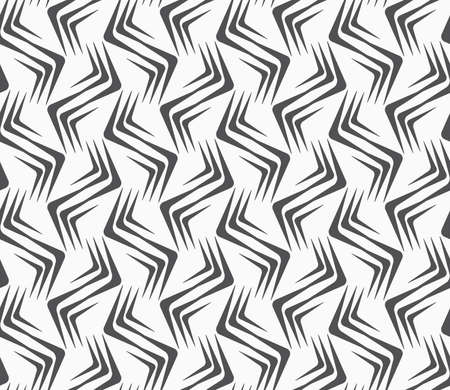 tillable: Seamless stylish geometric background. Modern abstract pattern. Flat monochrome design.Repeating ornament vertical wavy corners. Illustration