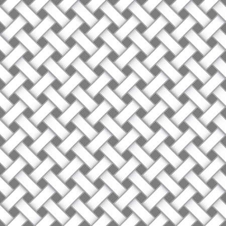 Naadloze geometrische achtergrond. Stock Illustratie