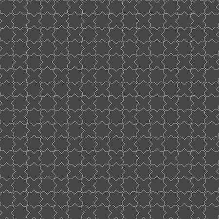 tillable: Seamless stylish geometric background. Modern abstract pattern. Flat monochrome design.Monochrome pattern with complex shaped lattice. Illustration