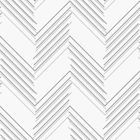 tillable: Seamless stylish geometric background. Modern abstract pattern. Flat monochrome design.Monochrome pattern with gray and dark gray chevron lines.