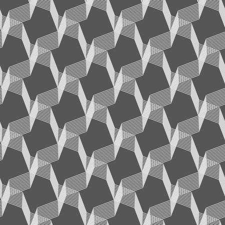 intersecting: Seamless stylish geometric background.  Illustration